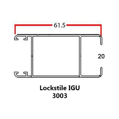 LOCKSTILE IGU