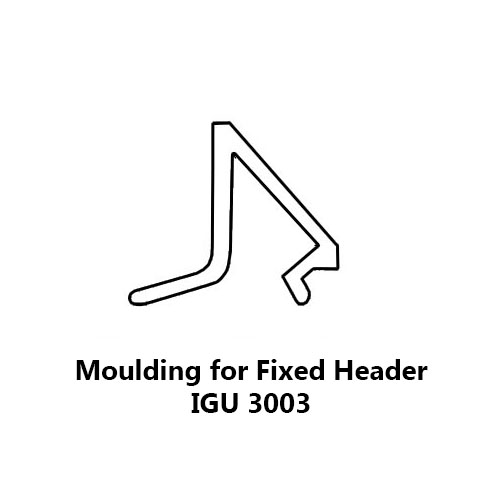 MOULDING FOR FIXED HEADER IGU