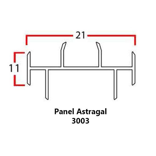 PANEL ASTRAGAL