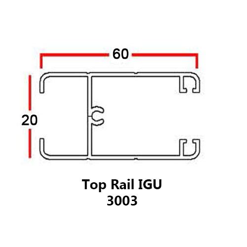 TOP RAIL IGU