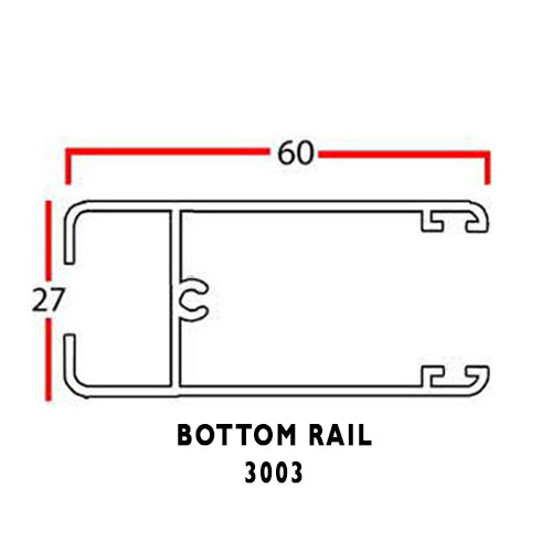 BOTTOM RAIL