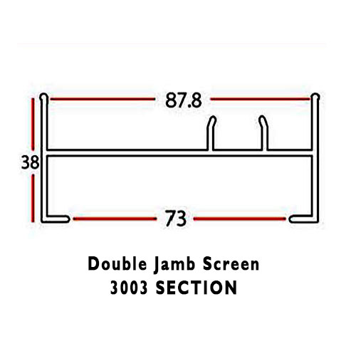 DOUBLE JAMB SCREEN