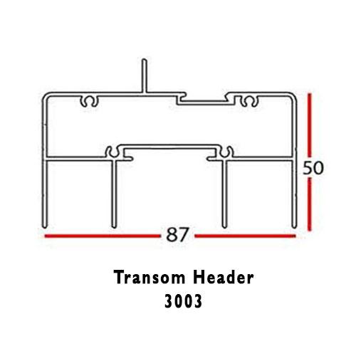 TRANSOM HEADER