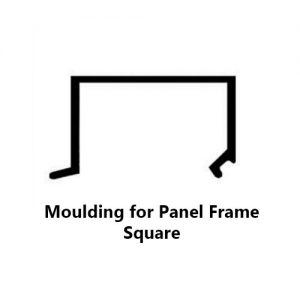 YC-50 MOULDING FOR PANEL FRAME SUARE