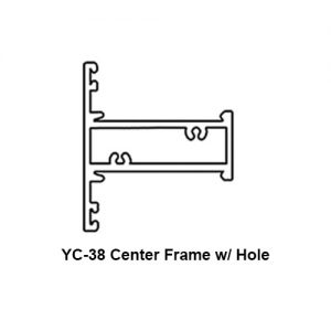 YC-38 CENTER FRAME w/ HOLE