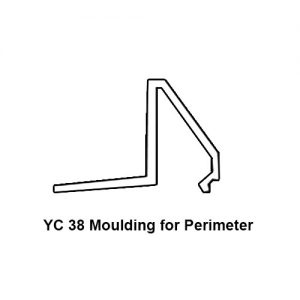 YC 38 MOULDING FOR PERIMETER