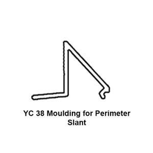 YC 38 MOULDING FOR PERIMETER SLANT